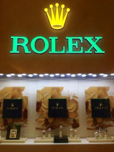 A WHOLE store of Rolex Watches!