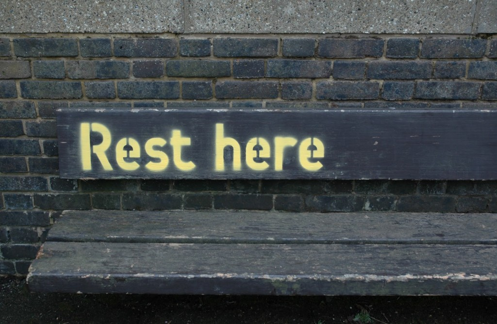 TMNT Rest Here Bench