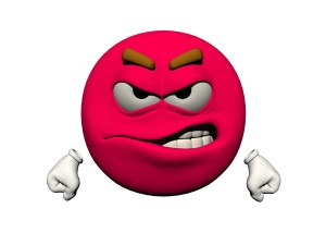 emoticon angry