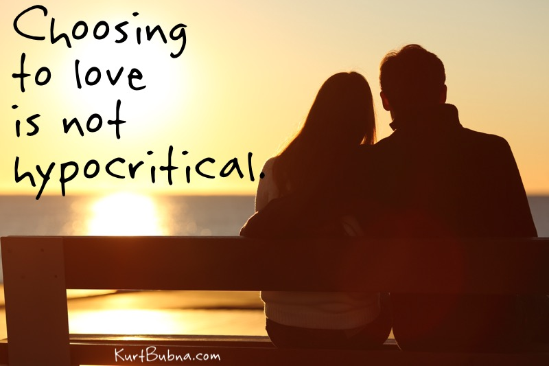 Love is not hypocritial
