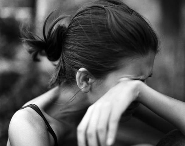 Amazing Woman Crying