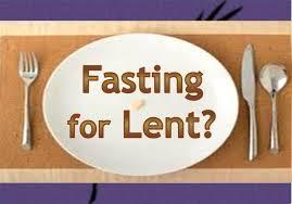Lent plate fork