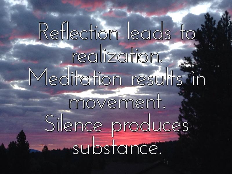 Mute Reflection