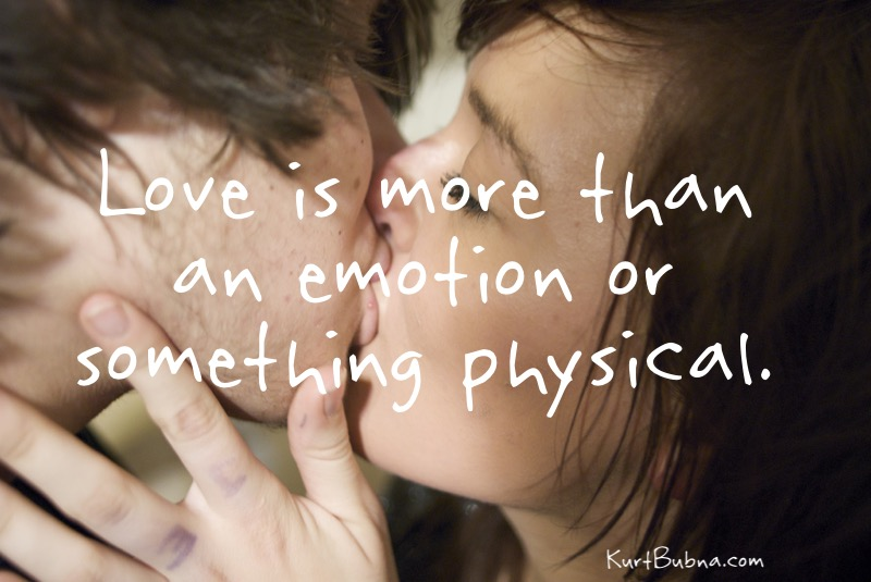 Love is more than an emotion
