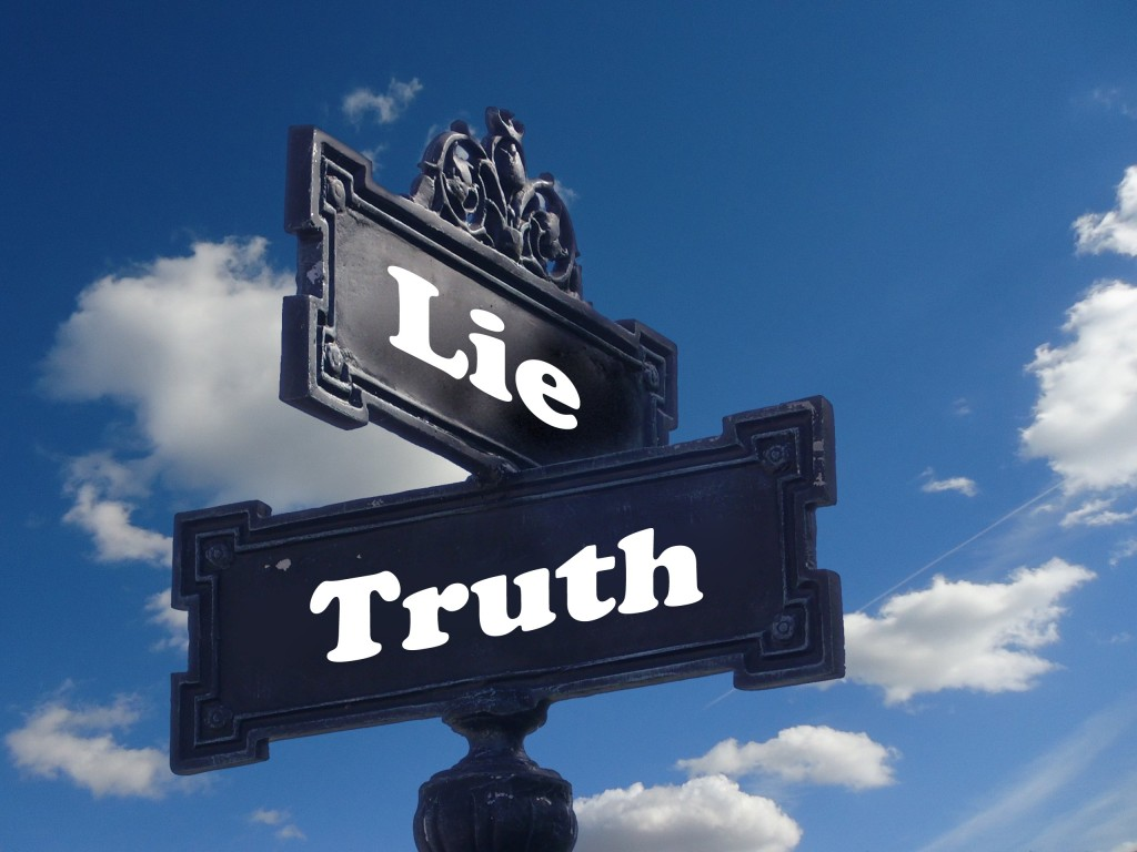 Politics Lie Truth