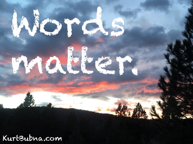 Words matter 1