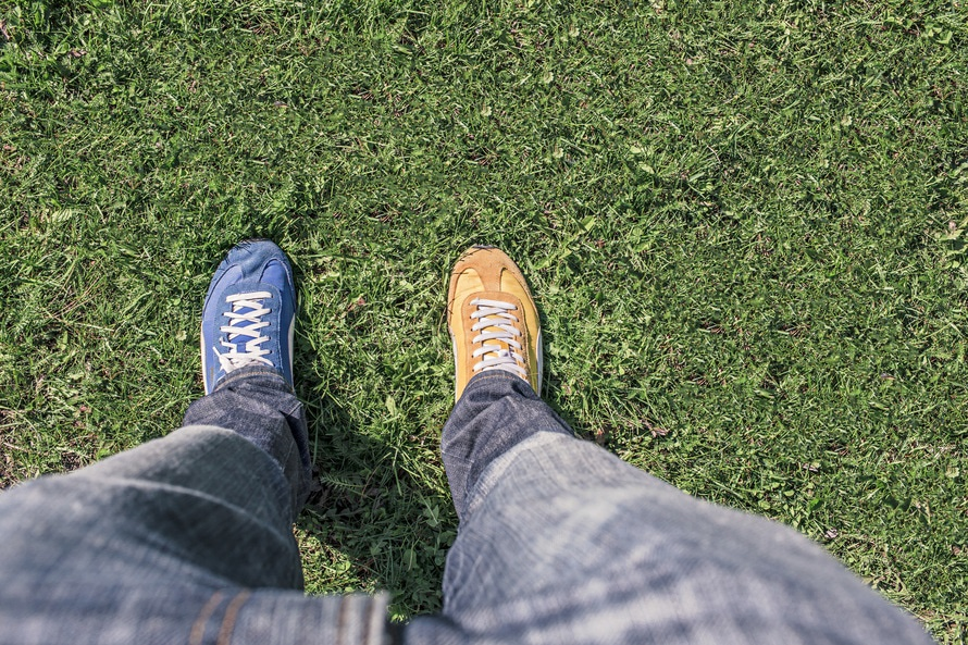 Butter Two Diff Shoes